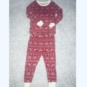 Matching Christmas Snowflakes Pajama Set 18 Months